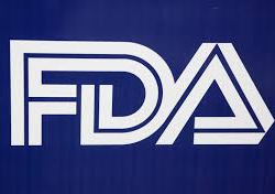 The logo of the US FDA